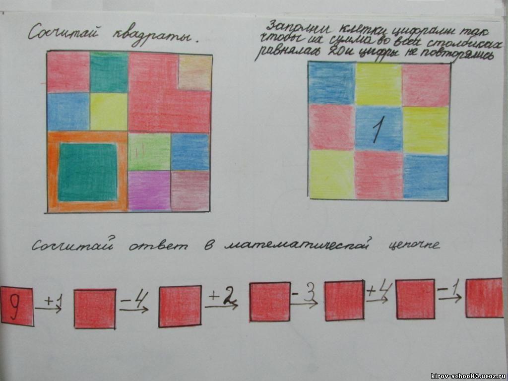 математика в картинках
